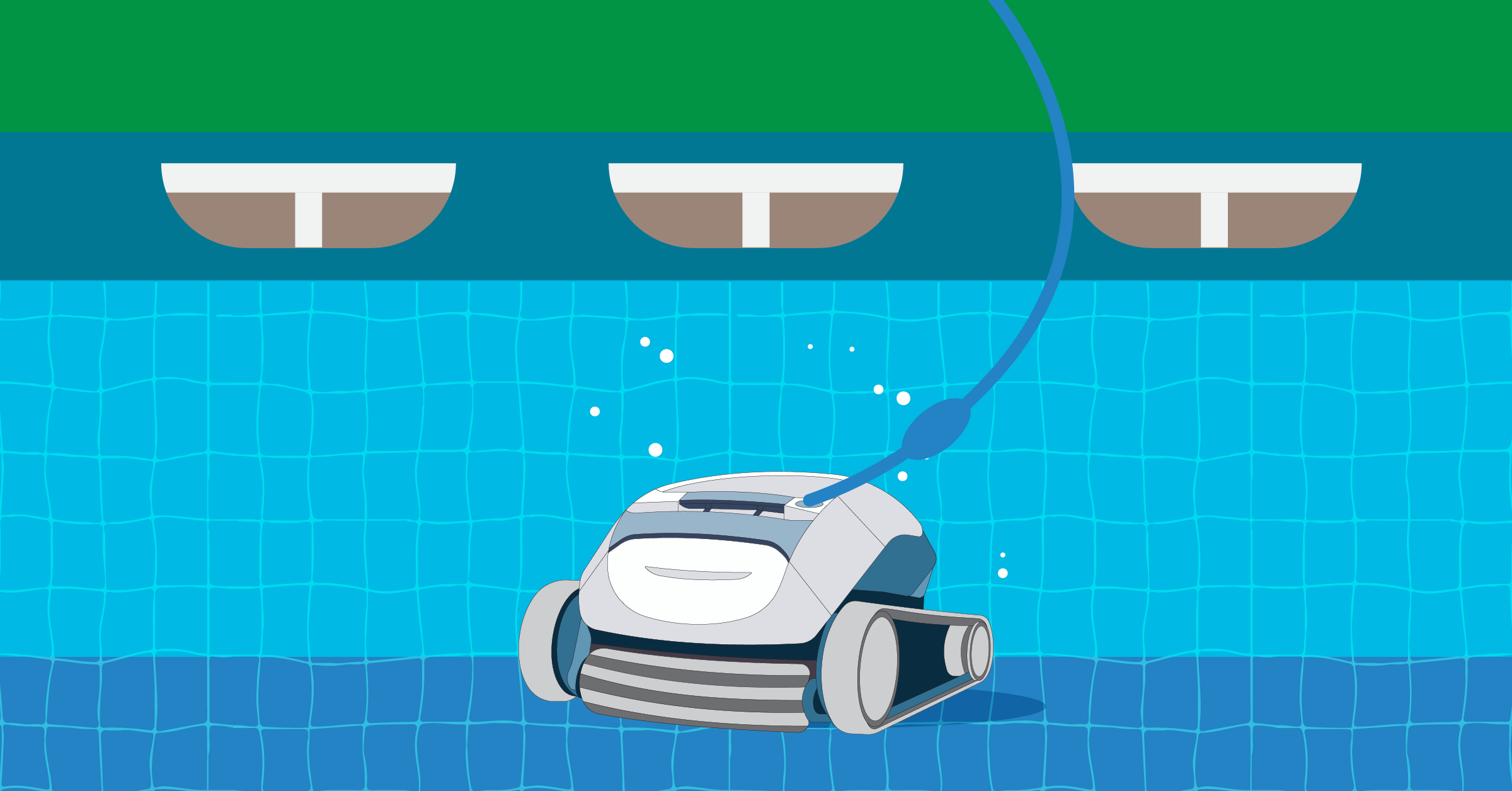 automatic vacuum for above ground pool