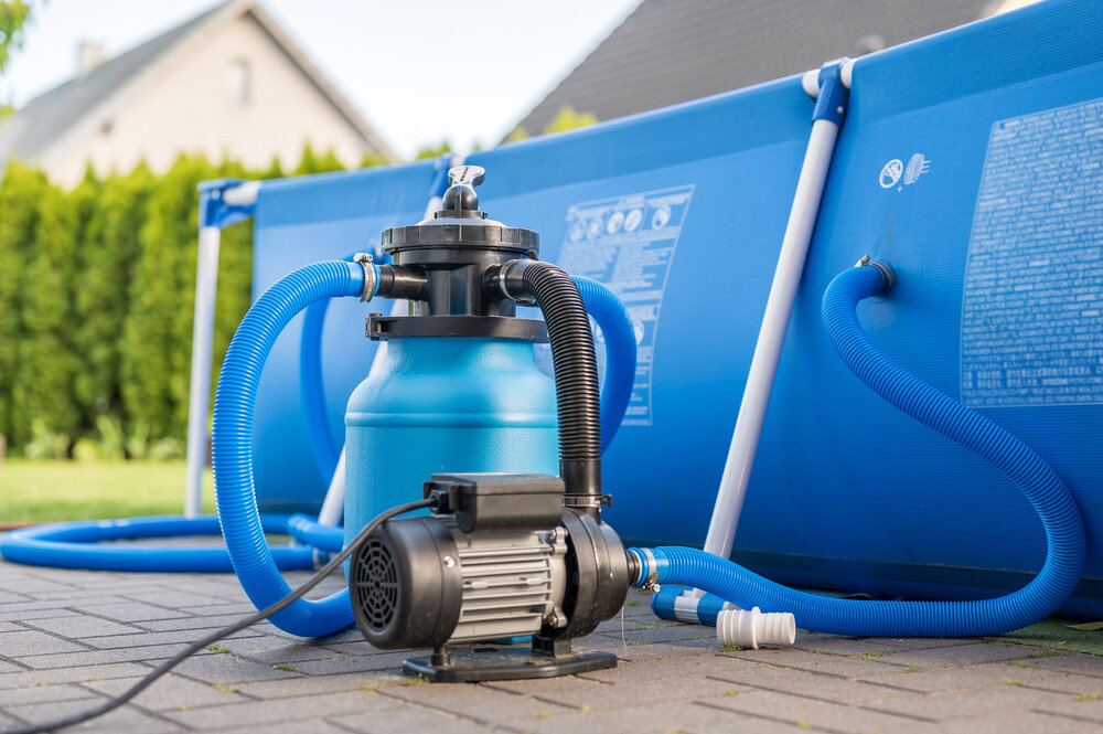 Pump and Filter of Above Ground Pool