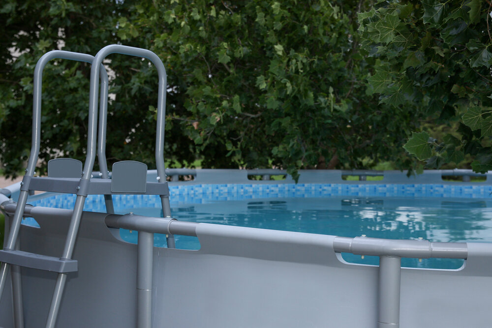 The type of above ground pool ladders