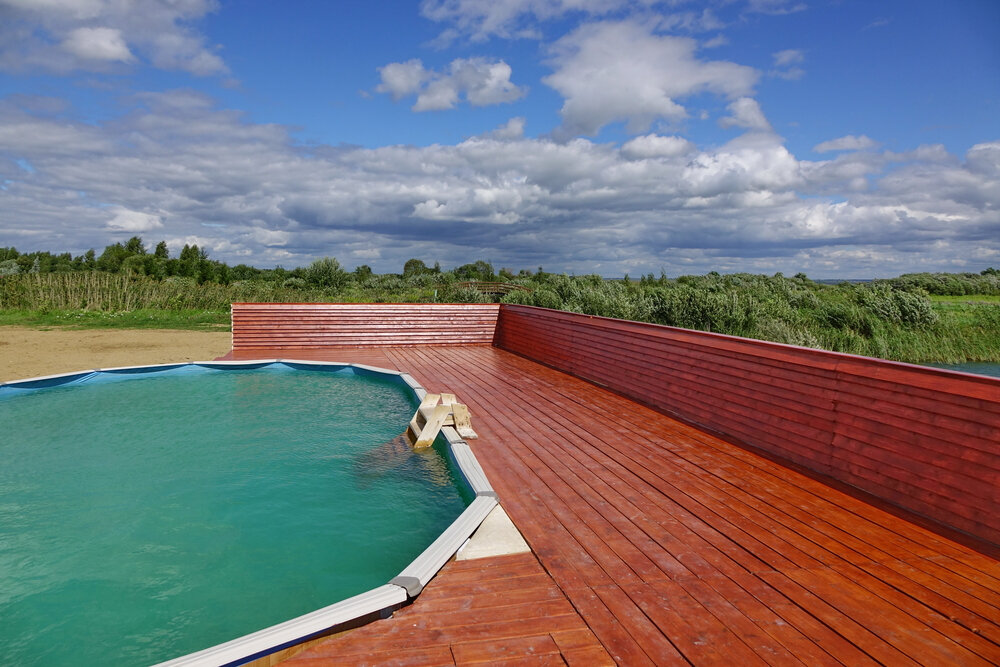 What above ground pools can be buried