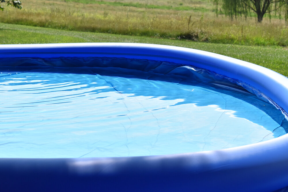 What is the easiest way to level ground for a pool