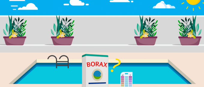 how much borax to raise pH in pool