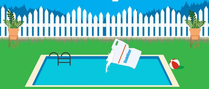 how to add stabilizer to pool without skimmer